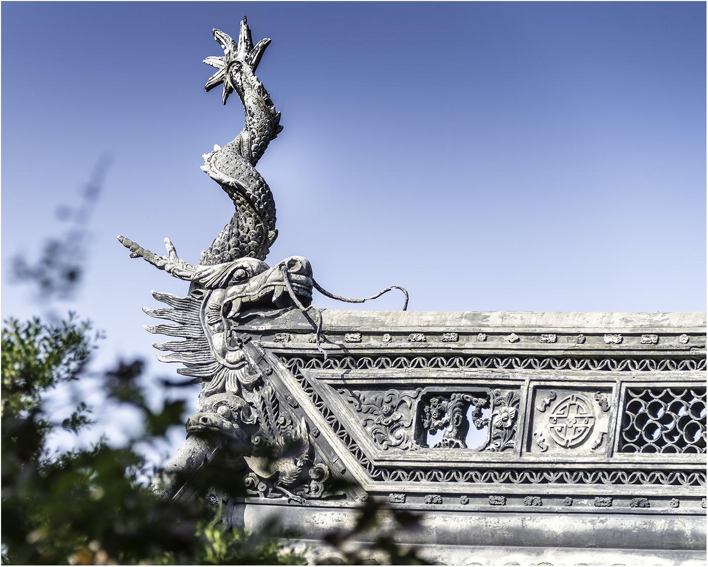 Древнекитайское зодчество, сохраненное до наших дней, поражает своим изяществом