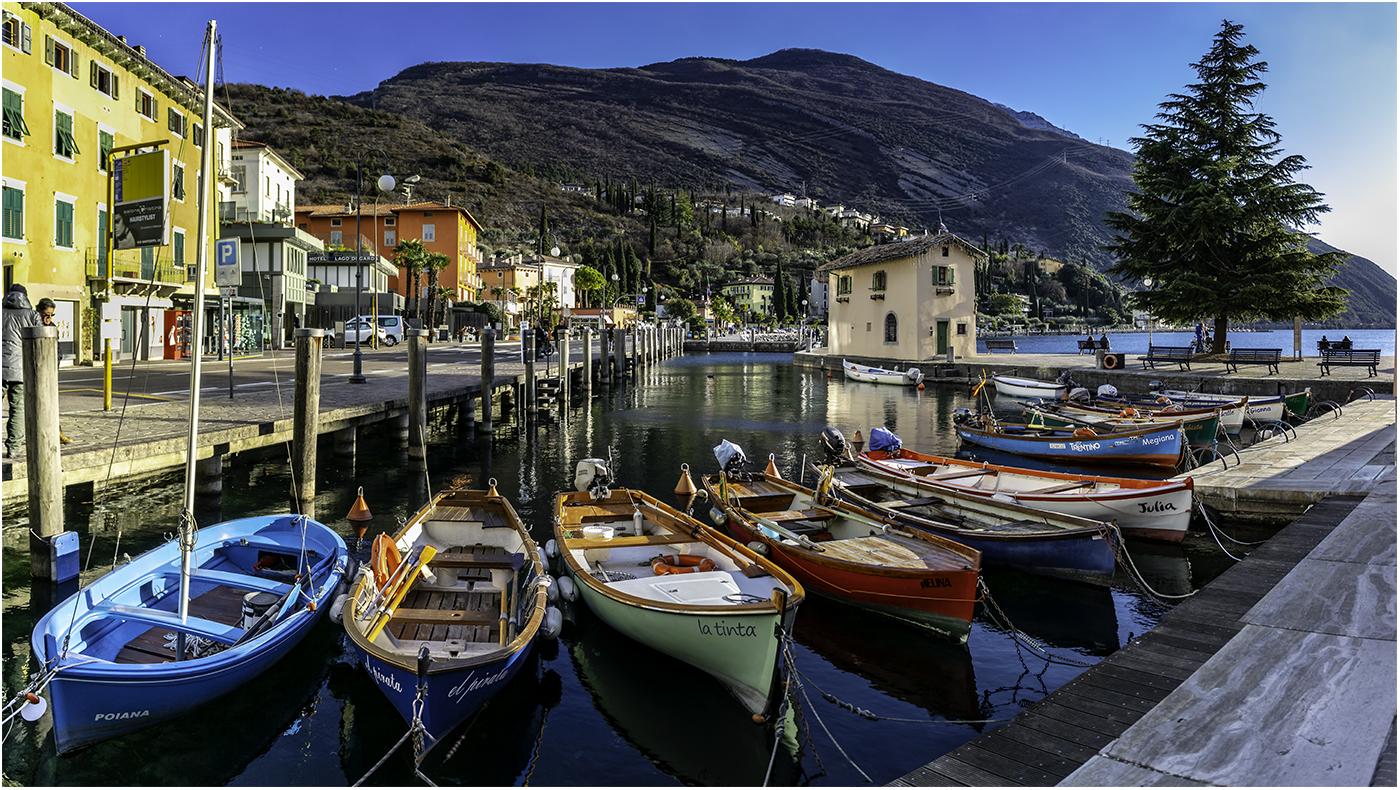 Самый северный город на озере Гарда - Рива дель Гарда