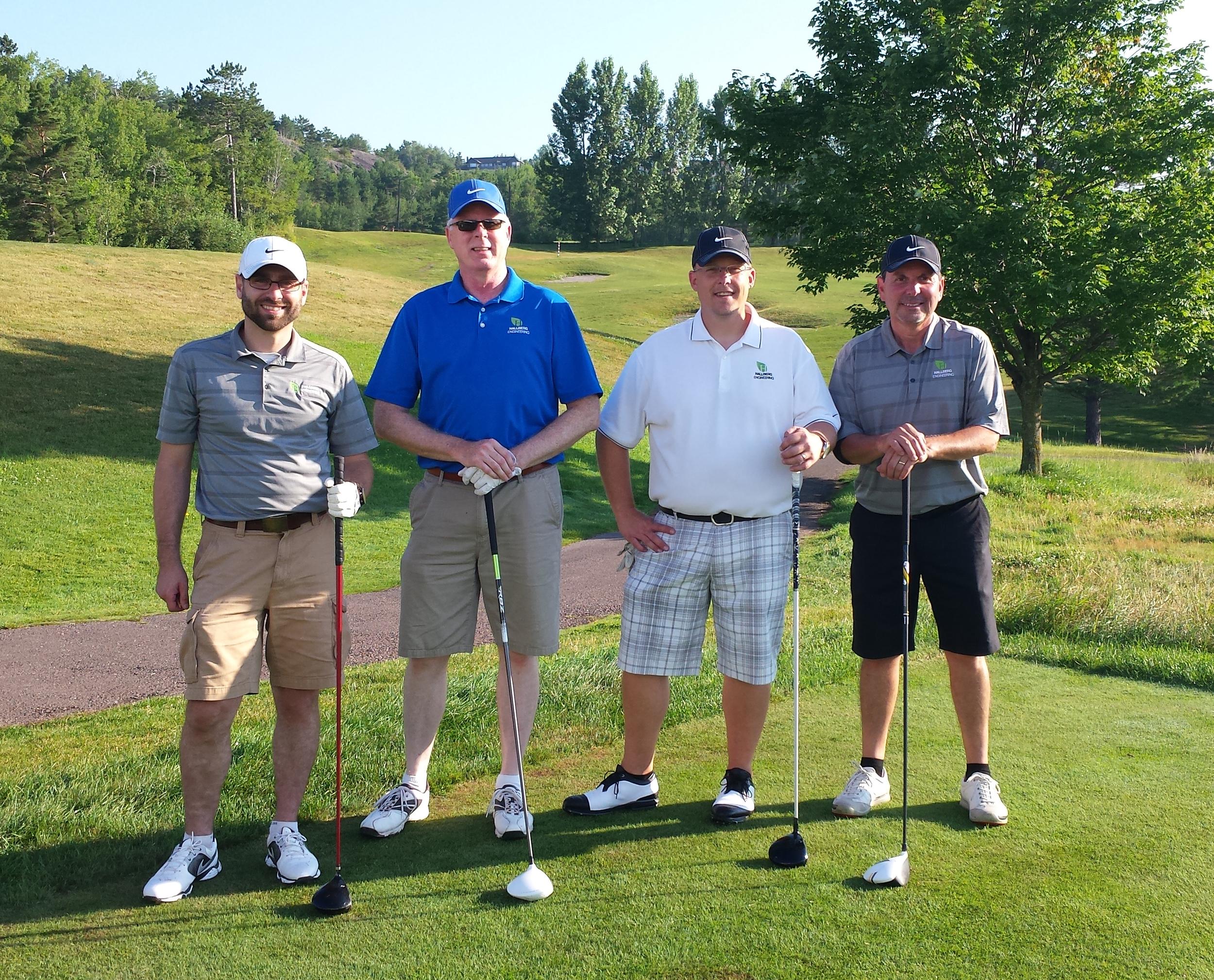 Ryan Lindahl, Mike Jones, Paul Fettinger & Rick Lucio