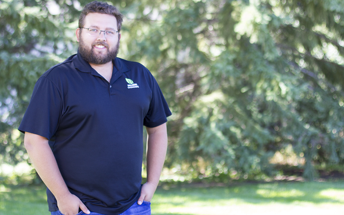 David Schoeberl - MECHANICAL ENGINEERDavid joined HEI in 2016 and holds a Bachelor of Science in Mechanical Engineering from the University of North Dakota.When not at HEI, I enjoy: golfing, listening to music and sitting at a bonfire with friends.
