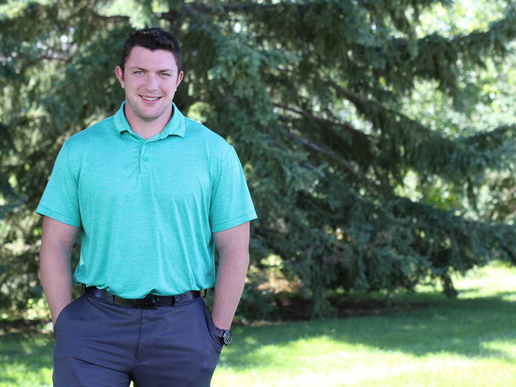 Jake Hill - MECHANICAL DESIGNERJake joined HEI in 2018 and is a recent graduate of Winona State University.When not at HEI: I enjoy golfing, fishing and exploring with my dog.