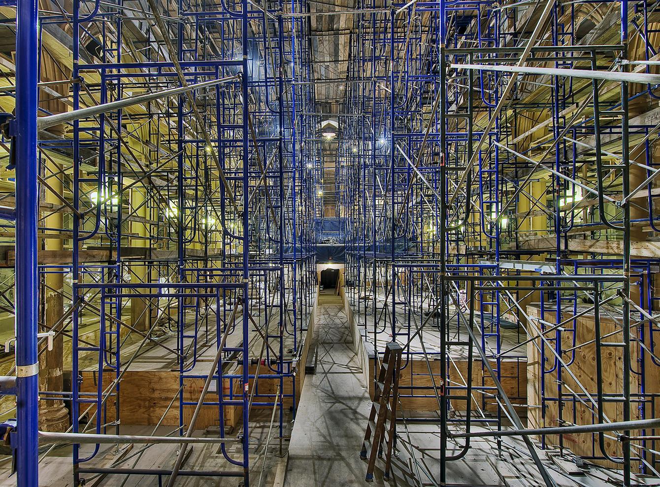 full scaffold