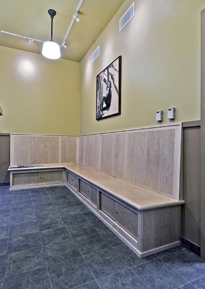 reception bench