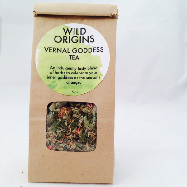 My new women's health tea is now in my Wild Origins shop   here