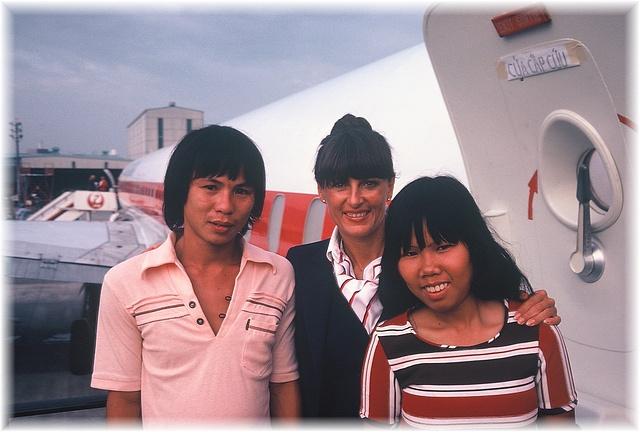 Denise Pemberton with Trangandhis sister Van.