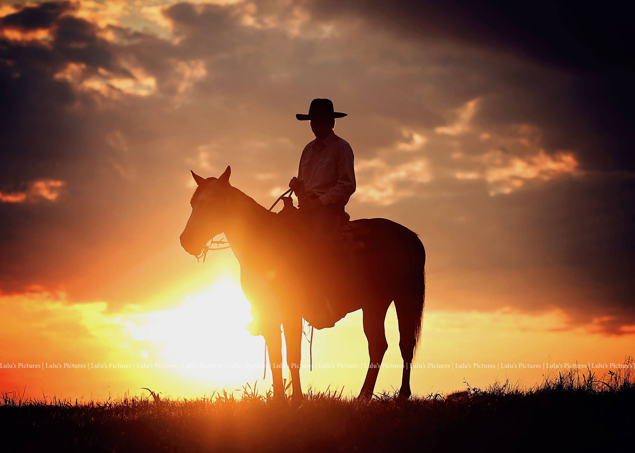 Yes, our cowboys do ride off into the sunset!