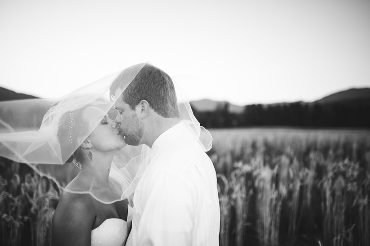 A special tender moment during a Stowe Vermont Wedding at The Barn at Smugglers' Notch Carl Heyerdahl Photography