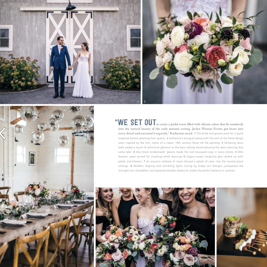 The Barn at Smugglers' Notch is a new, modern and fresh perspective on a New England Wedding Barn Venue.