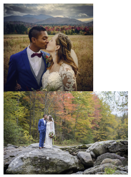 Fall Weddings are full of Color!  Fall Stowe weddings are full of color!