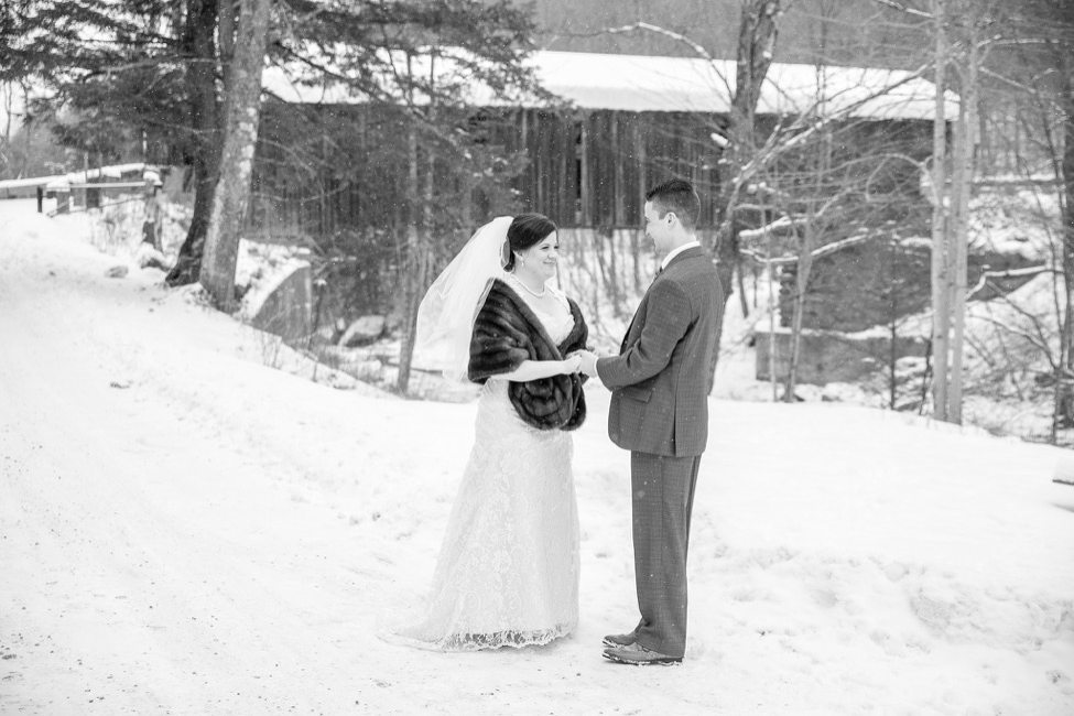 A local Covered Bridge that is hundreds of meters from our location is the perfect backdrop for photos of your Stowe wedding..