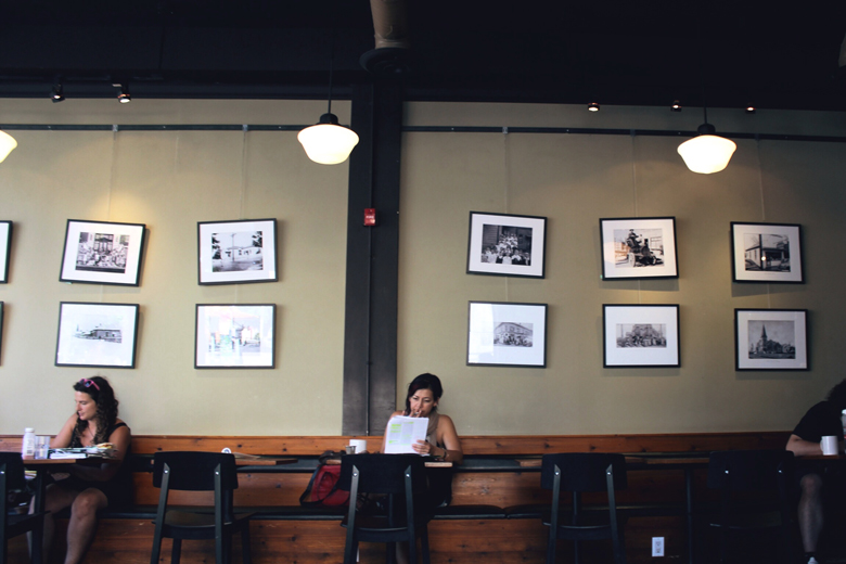 Fernwood Cafe // Cashmere and Plaid