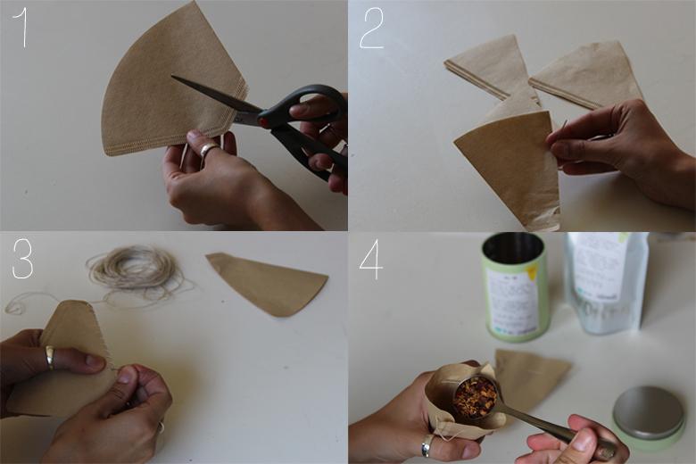 diy tea bags // cashmere and plaid