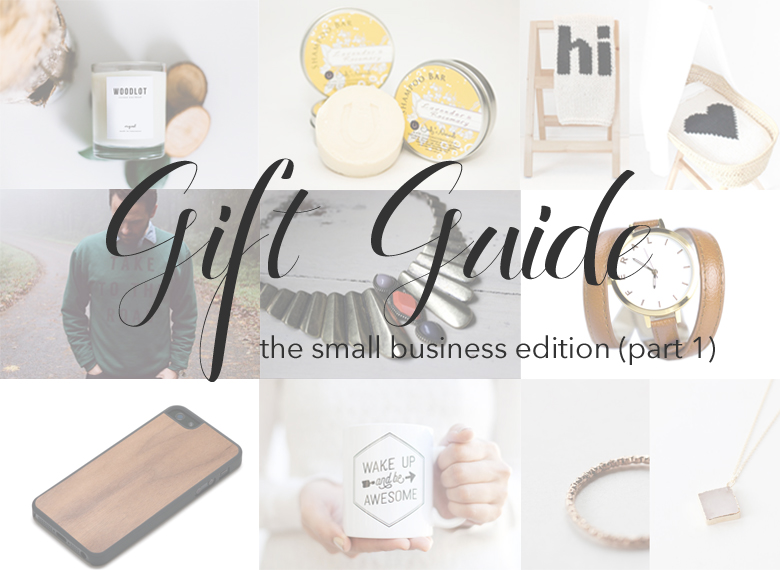 Holiday Gift Guide - small business