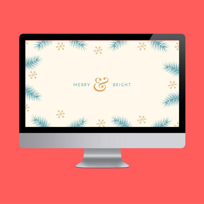 Merry & Bright Desktop