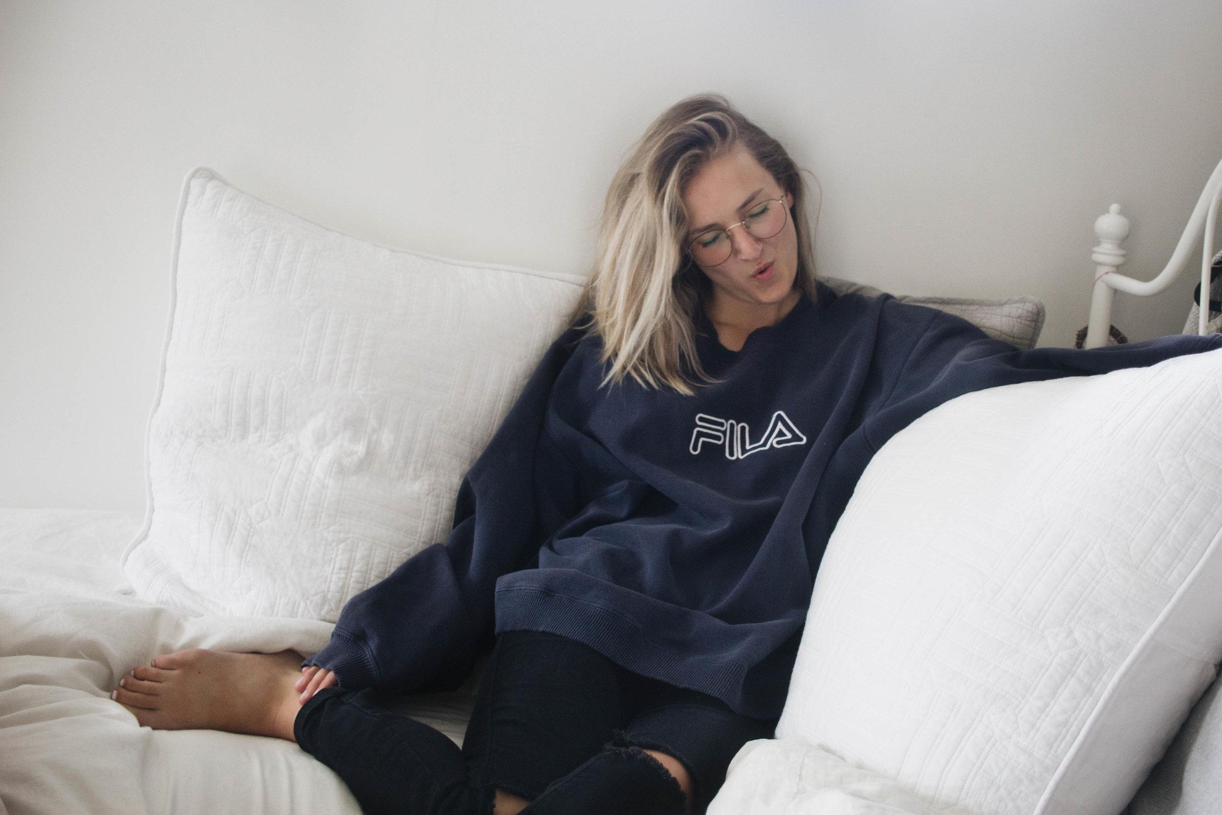 Take it Vintage - Fila Sweatshirt