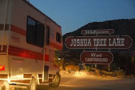 joshua tree lake campground