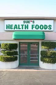 sue's health foods