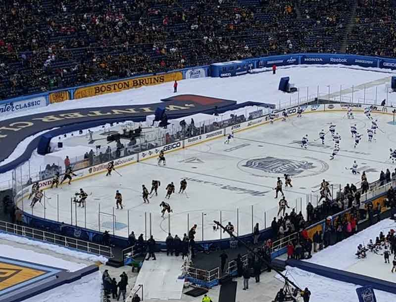 NHL Winter Classic - DC Rentals provided the communications infrastructure for the 2016 NHL Winter Classic.