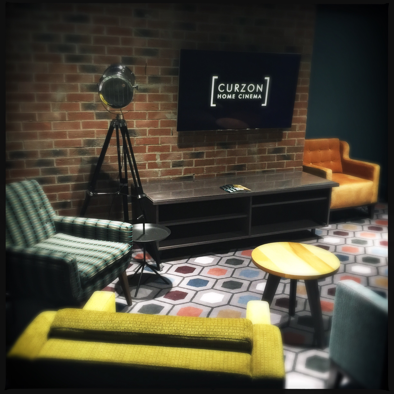 The Curzon Home Cinema lounge