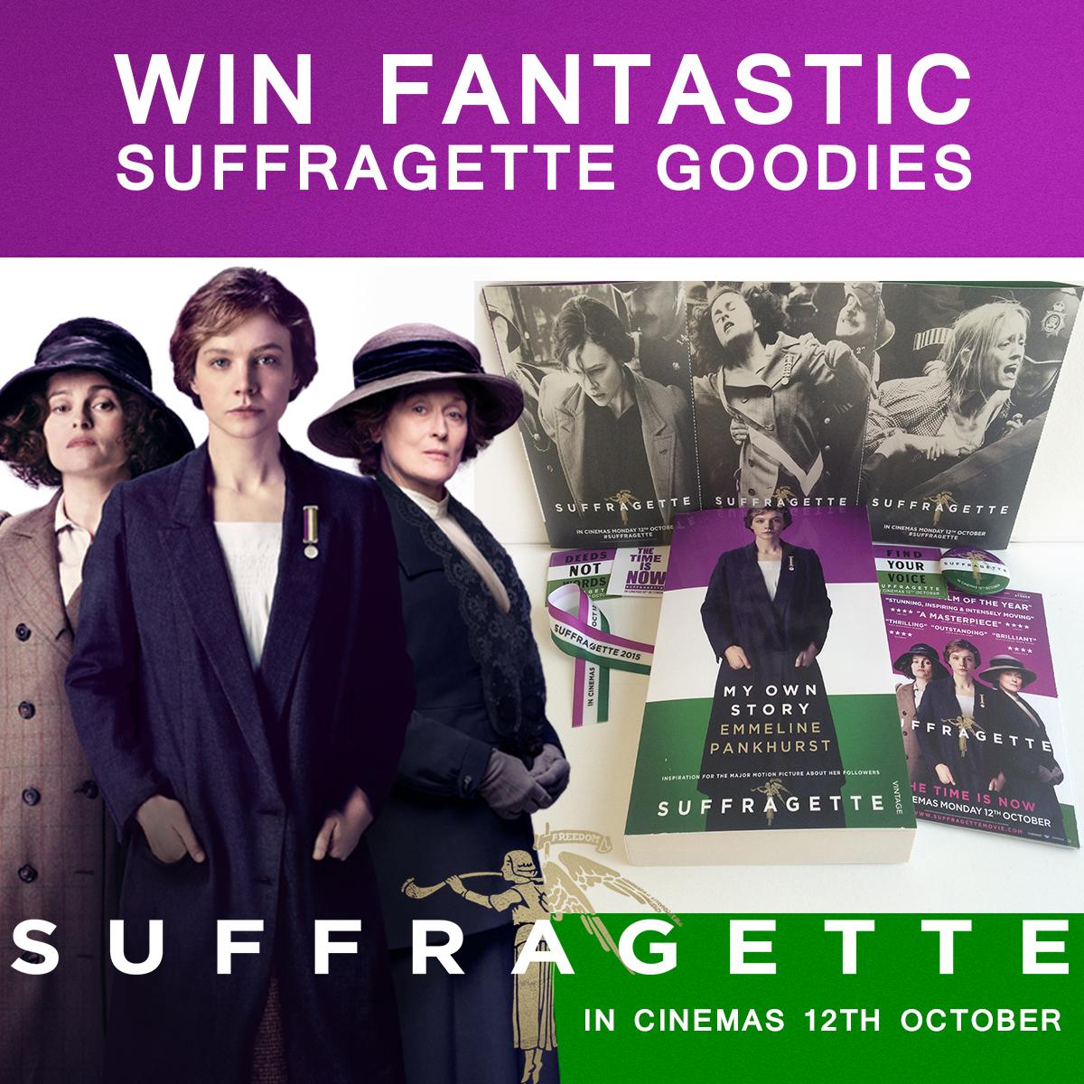 Suffragette competition