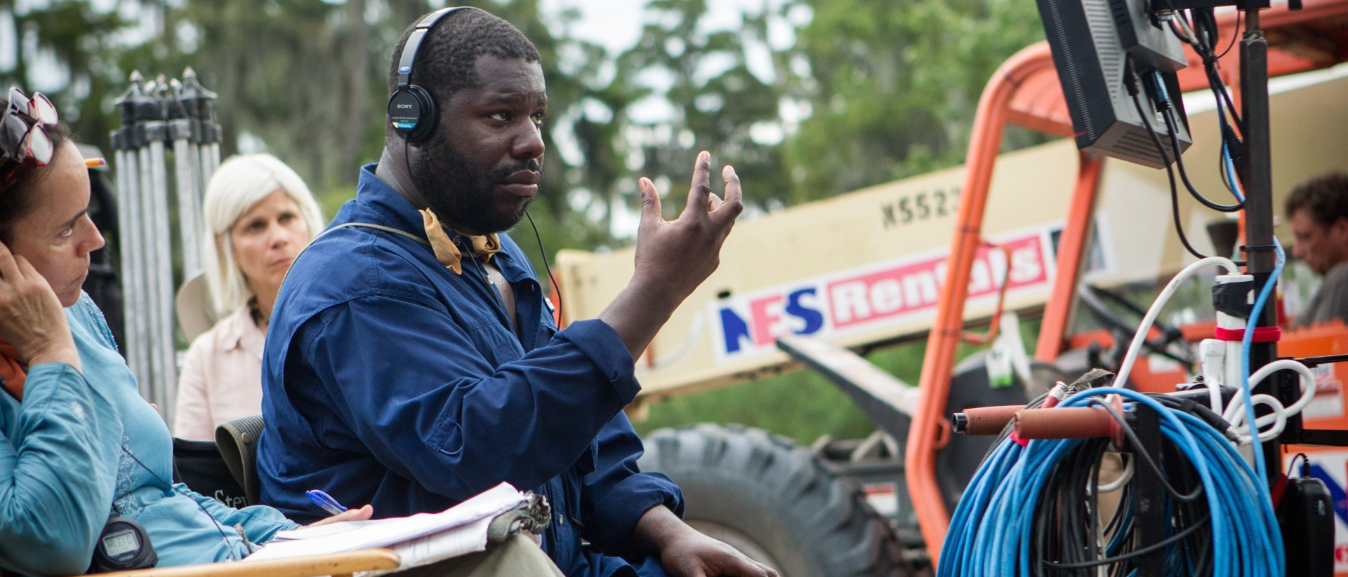 Goldsmiths alumnus Steve McQueen directing  12 Years A Slave  (Best Picture Oscar winner)