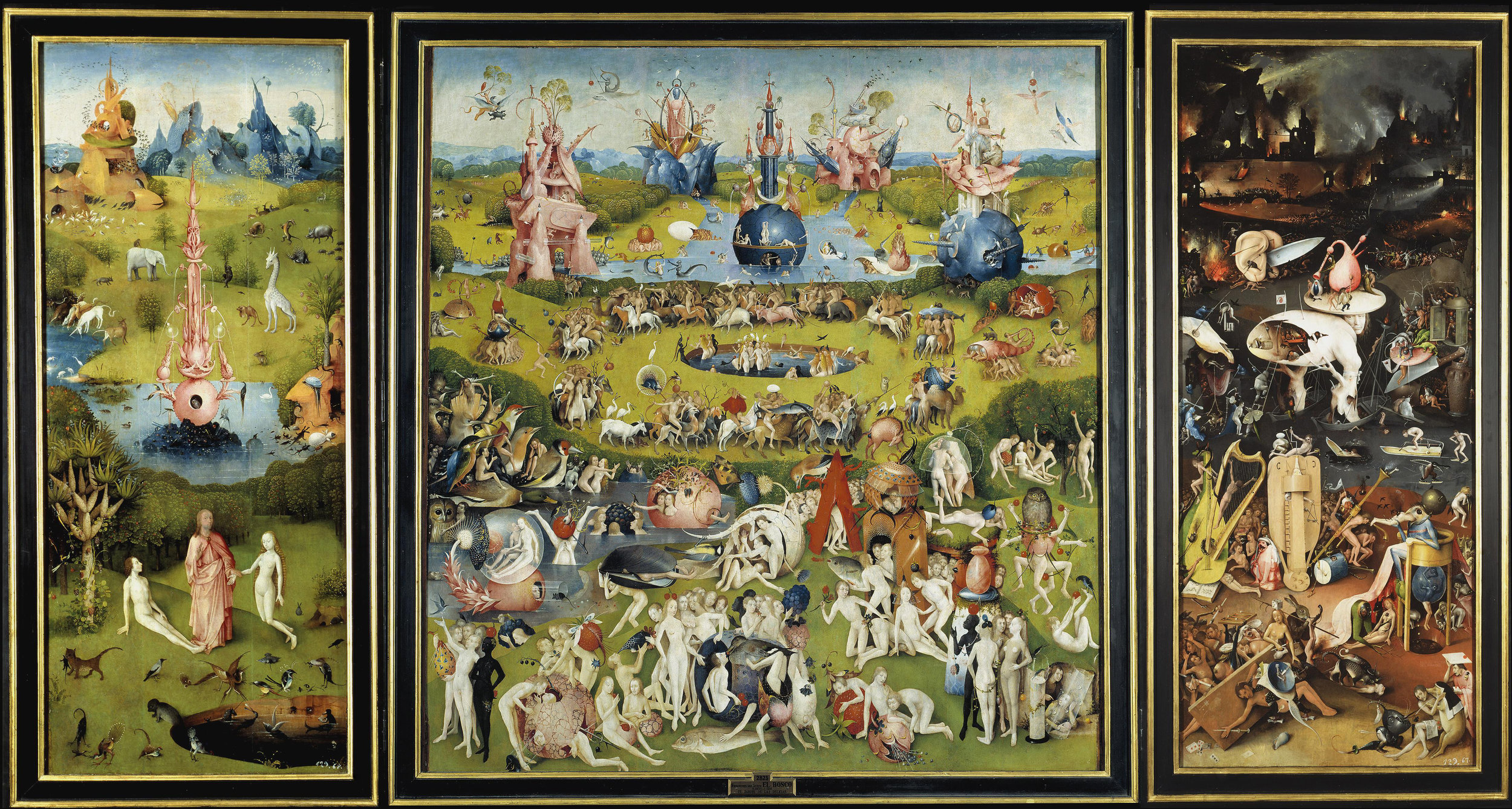 'The Garden of Earthly Delights' by Hieronymus Bosch - courtesy of  Wikimedia Commons