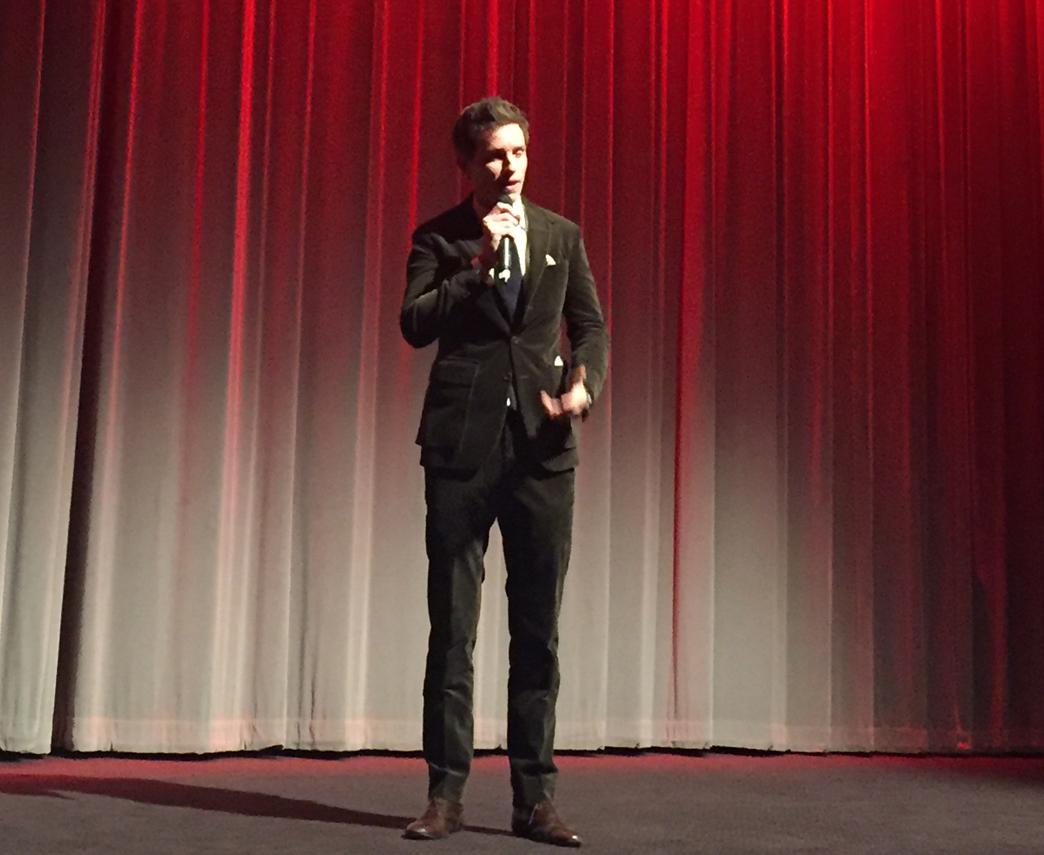 Oscar-winner and short film fan Eddie Redmayne introduced the BAFTA Shorts 2017 premiere