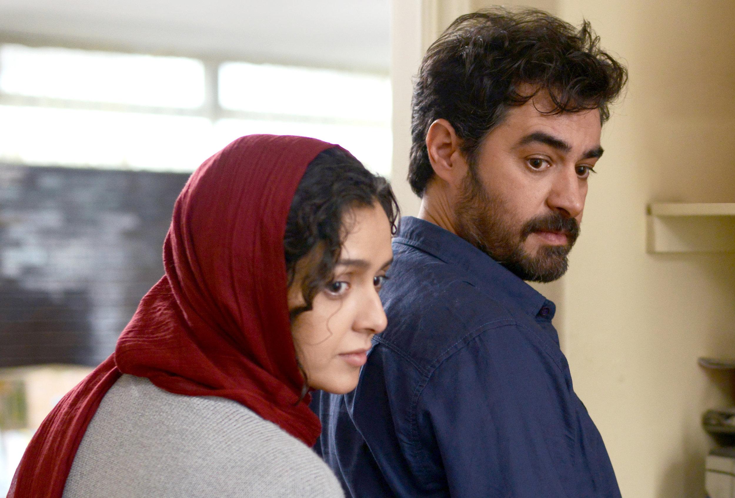 Taraneh Alidoosti and Shahb Hosseini as Rana and Emad in  The Salesman