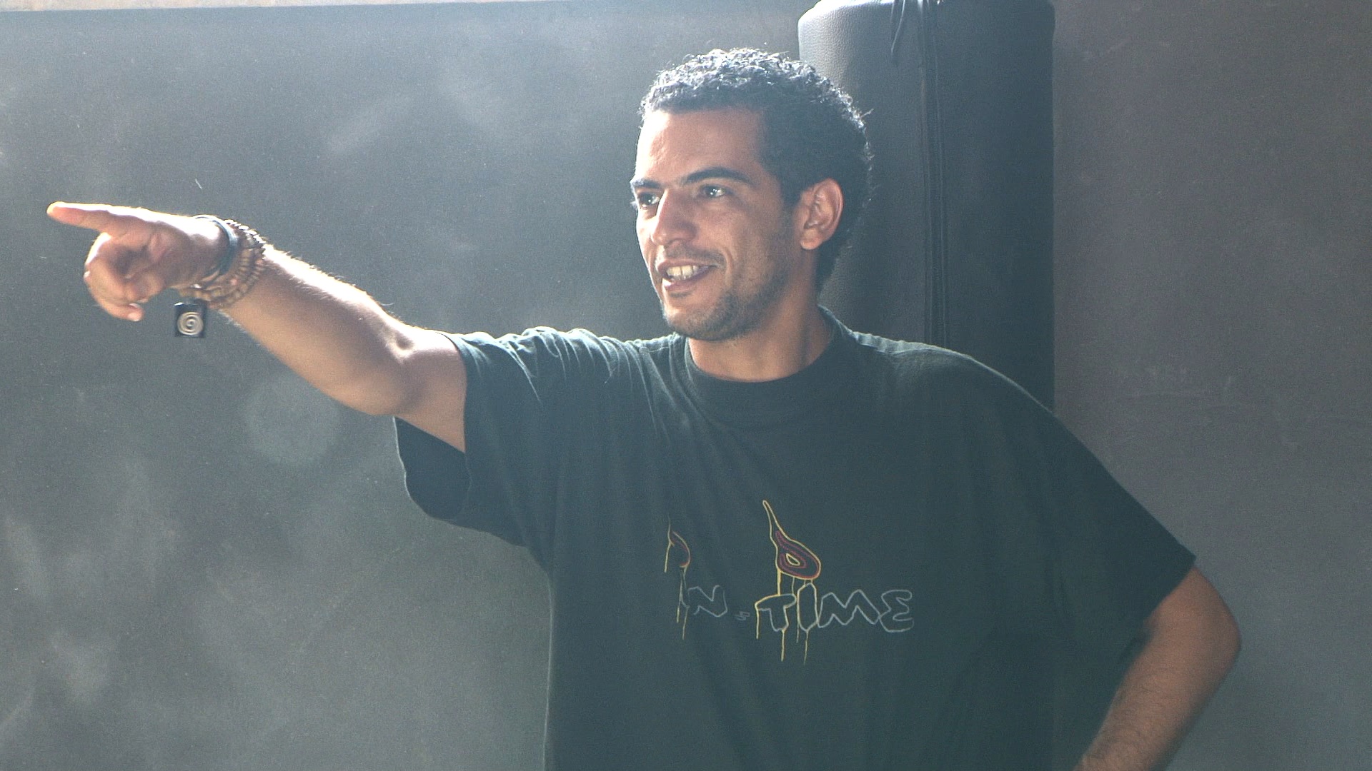 Cirque Shems'y performance director Jawad Tounissi