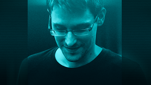 Edward Snowden in the Oscar-winning  Citizenfour