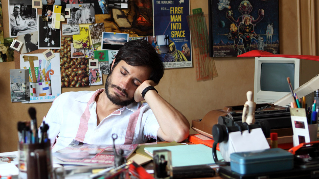 Gael Garcia Bernal on the campaign trail in Larrain's Oscar-nominee 'No'