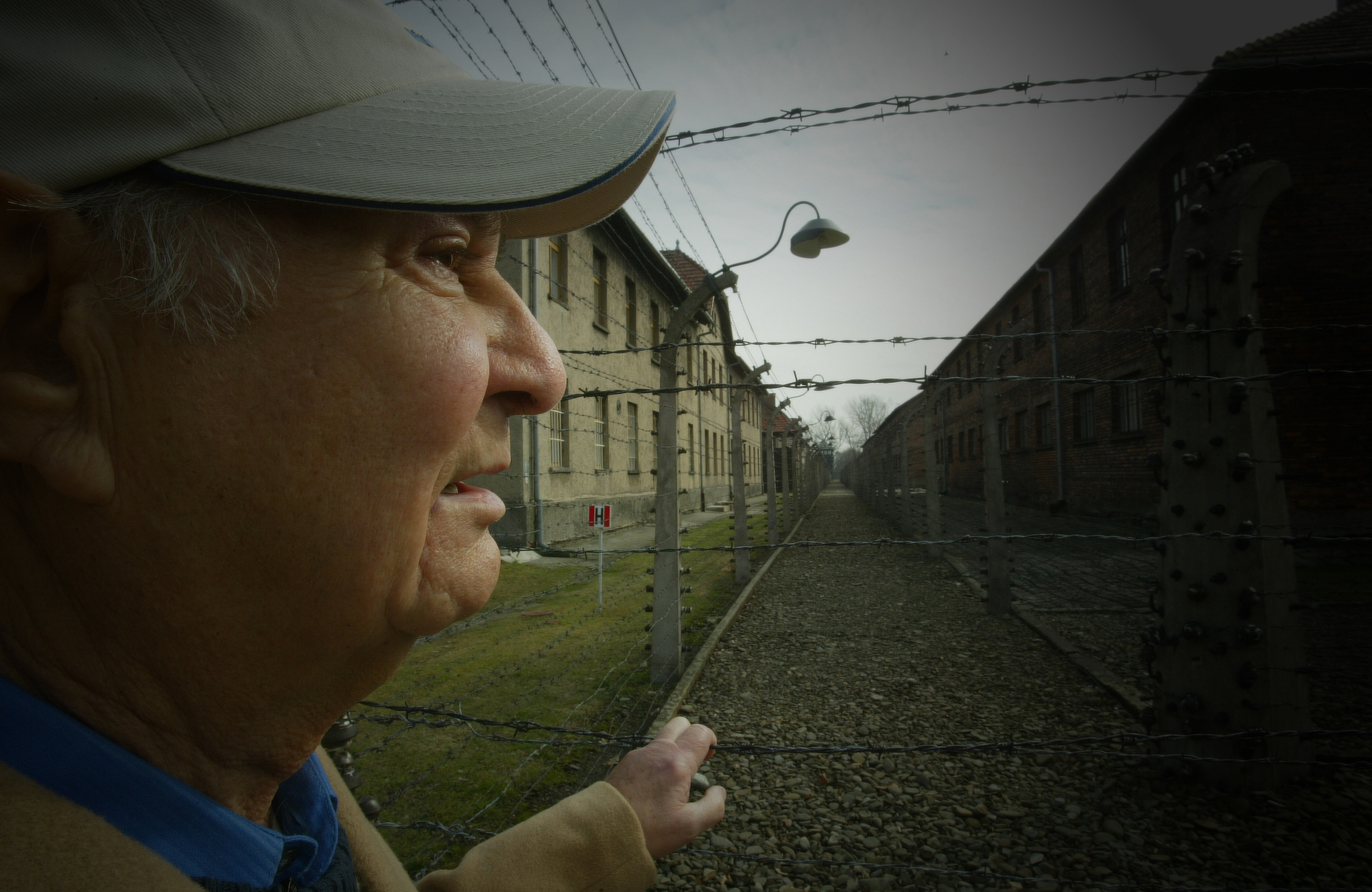 Holocaust survivor Stanley Glogover, one of the protagonists of  Destination Unknown