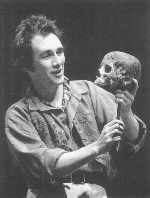 Mark Rylance as Hamlet at the RSC in 1991