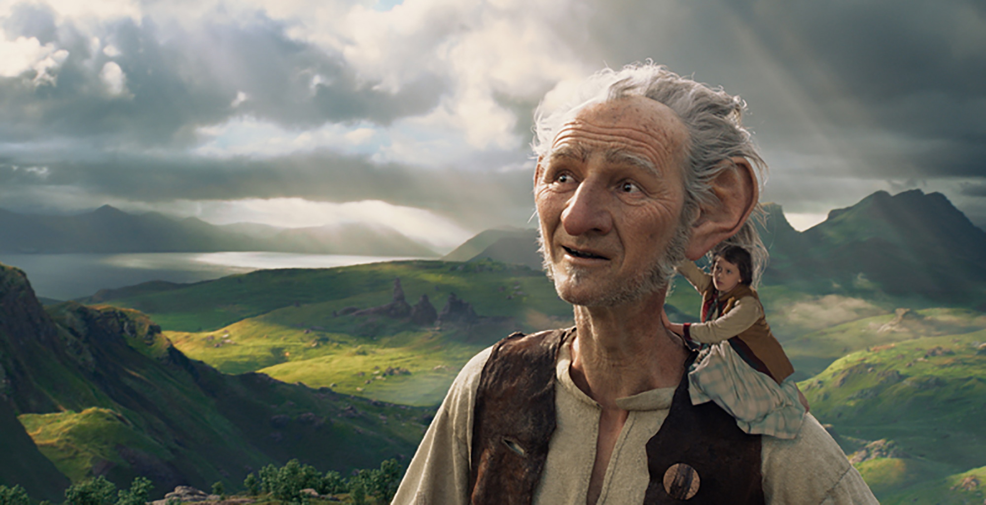 Mark Rylance in Steven Spielberg's  The BFG  (2016)