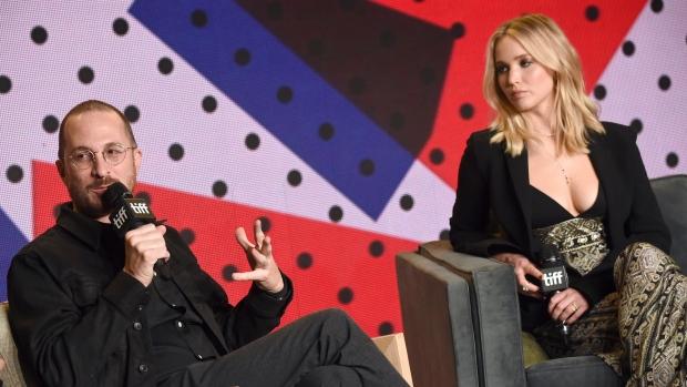 Darren Aronofsky &Jennifer Lawrence talk  mother!  in Toronto