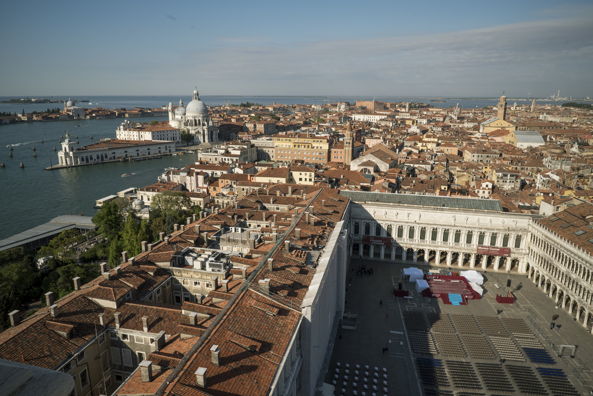 Campanile views of Venice © EXHIBITION ON SCREEN (David Bickerstaff)