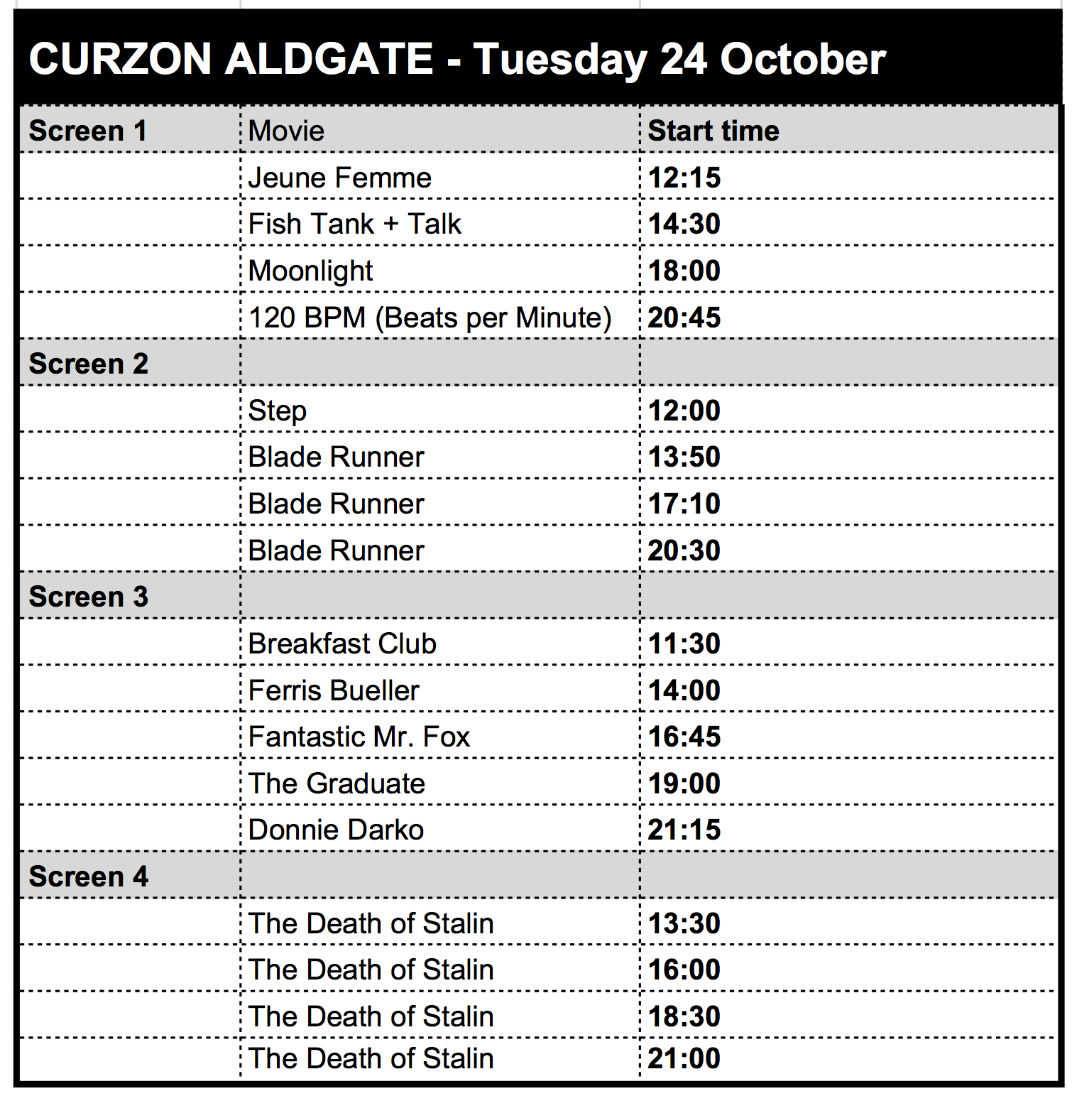 Meet the World - Aldgate schedule.png
