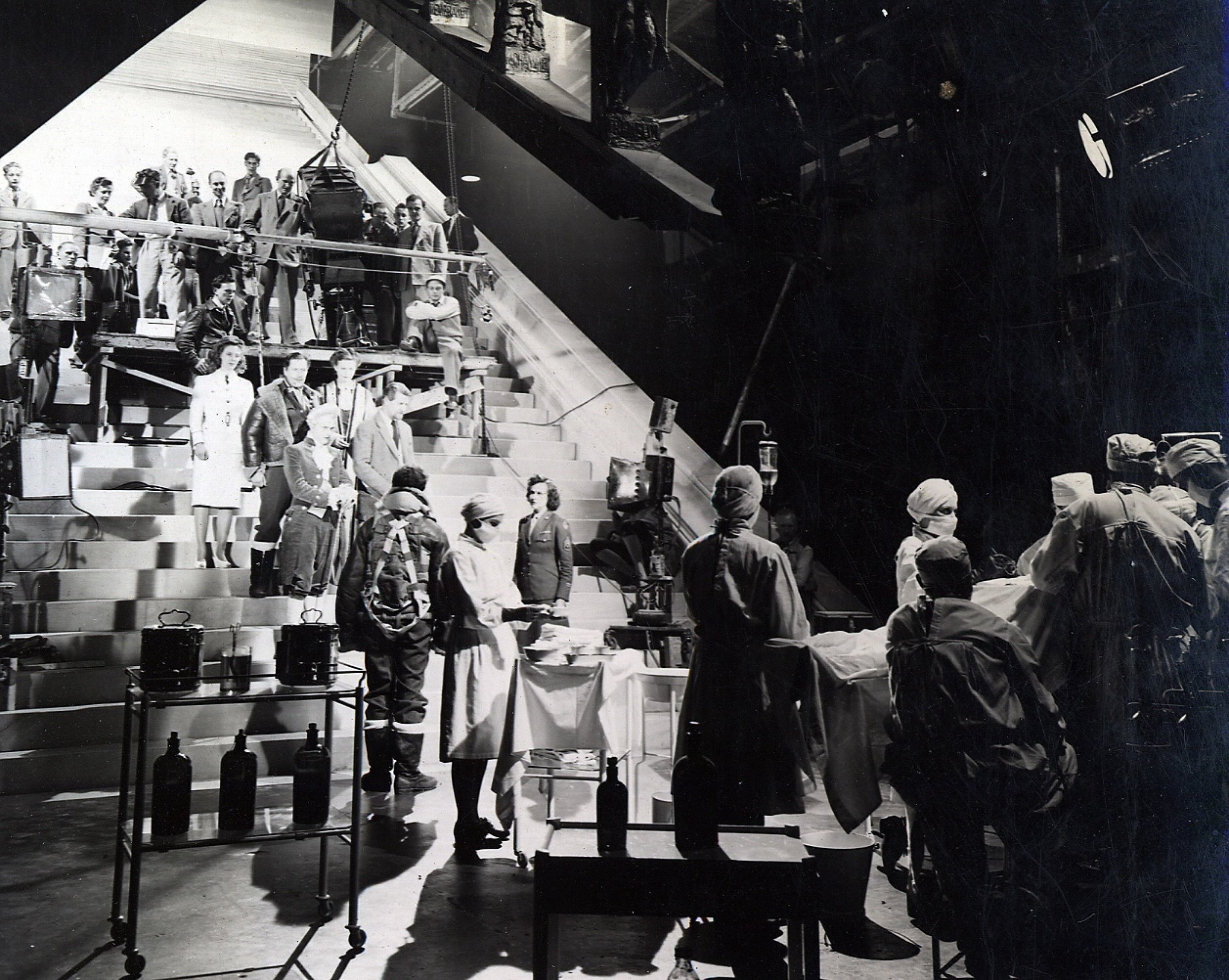 Behind the scenes on the stairway to heaven