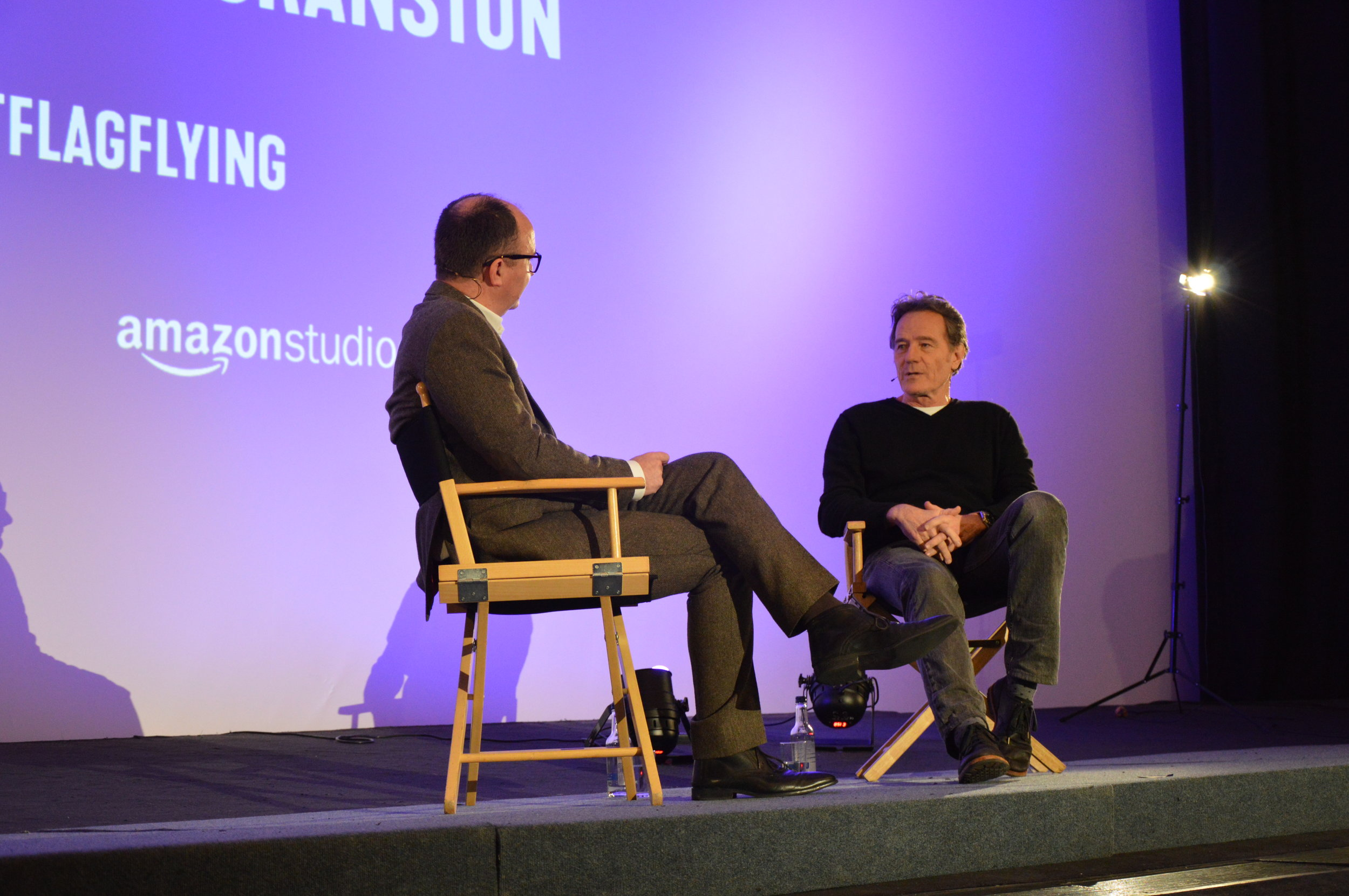 Ian Haydn Smith interviews Bryan Cranston at Curzon Mayfair