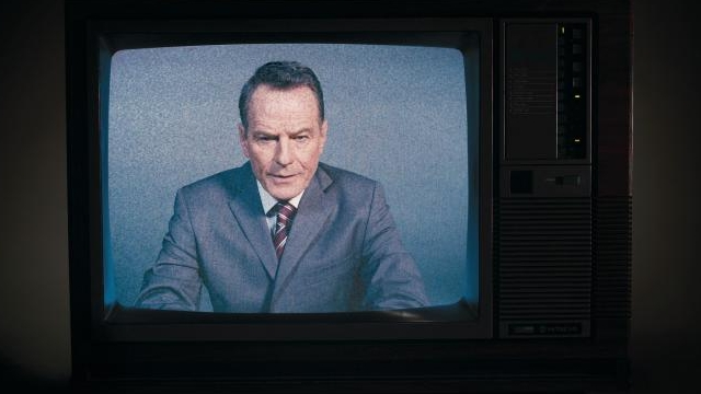 Bryan Cranston as Howard Beale in  Network  at the National Theatre