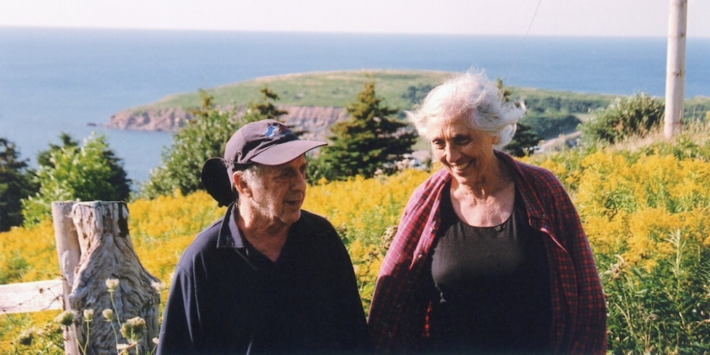 Robert Frank and Mary Frank, from Gerald Fox's  Leaving Home, Coming Home: A Portrait of Robert Frank