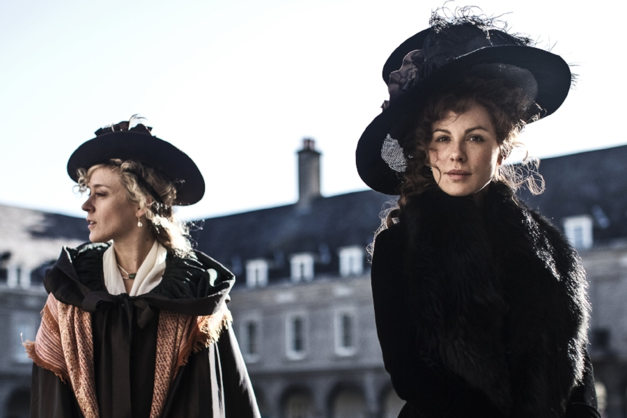 Chloë Sevigny and Kate Beckinsale in  Love & Friendship