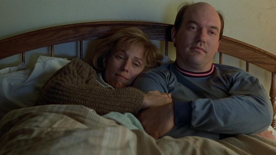 Frances McDormand and John Carroll Lynch in  Fargo (1996)
