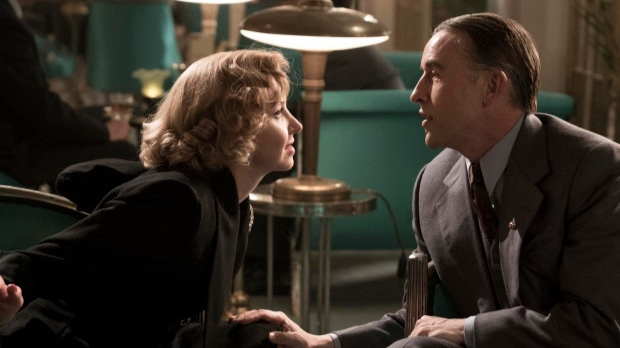 Nina Arianda as Ida Kitaeva Laurel and Steve Coogan as Stanley Laurel