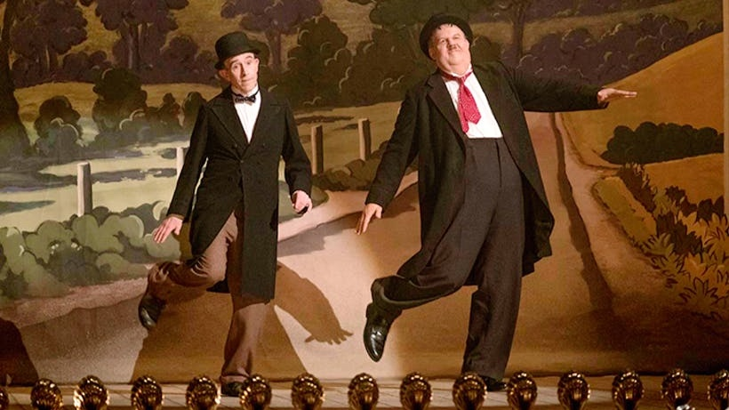 Steve Coogan as Stanley Laurel and John C. Reilly as Oliver Hardy