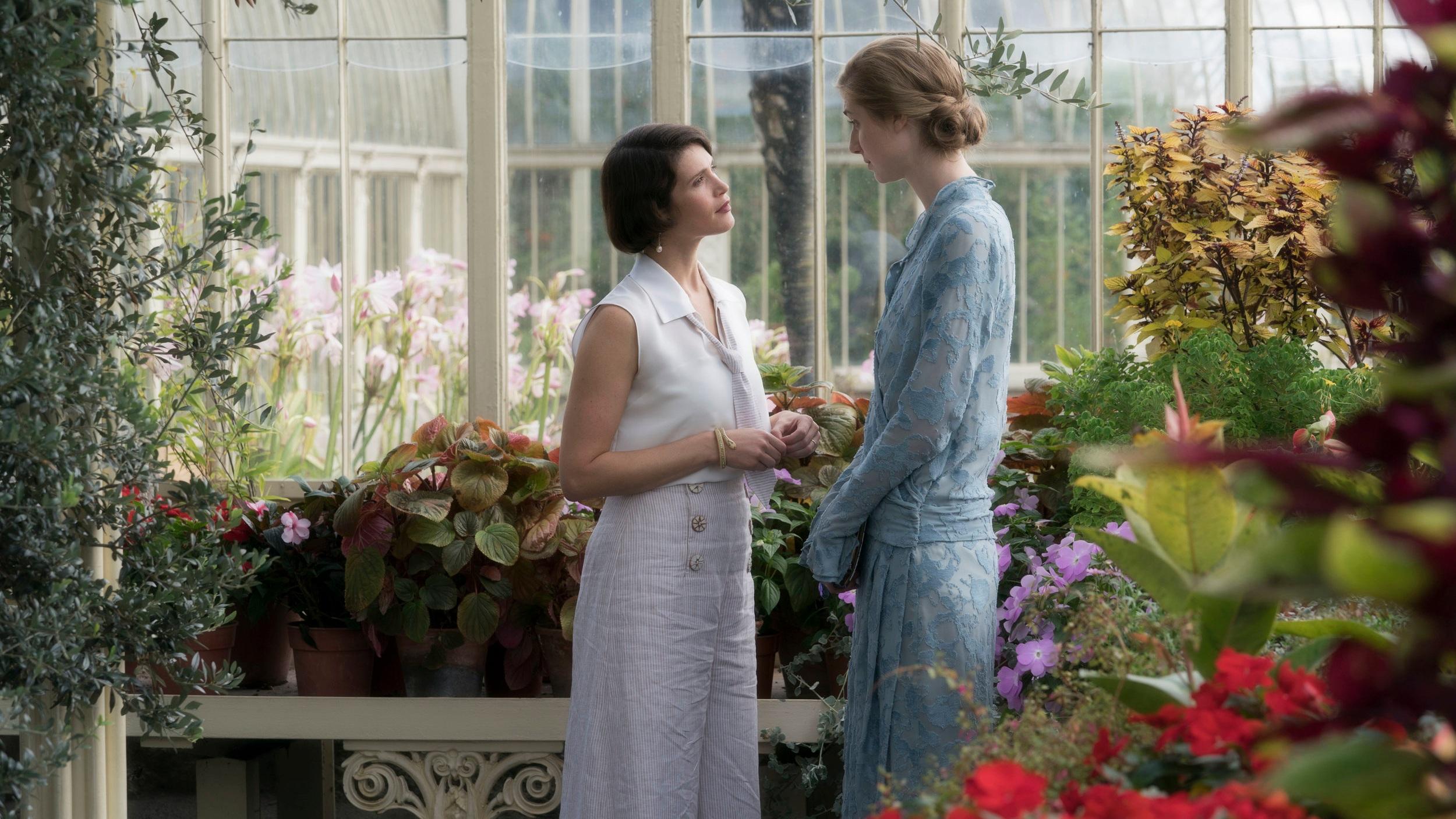 Gemma Arterton and Elizabeth Debicki in  Vita & Virginia