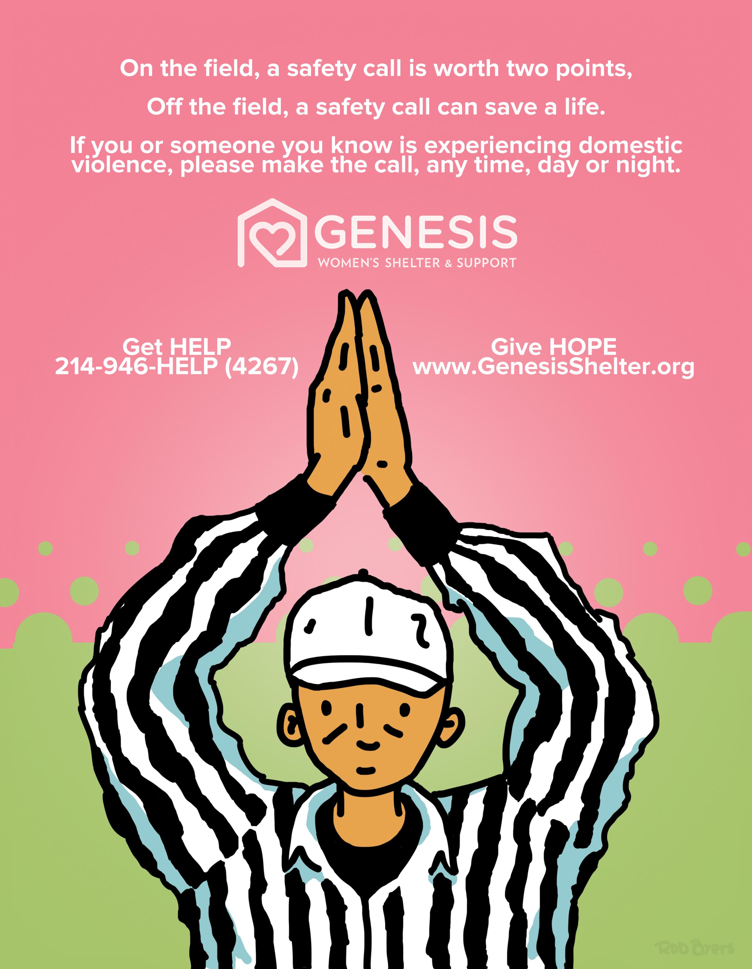 Genesis Women's Shelter - Dallas Cowboys