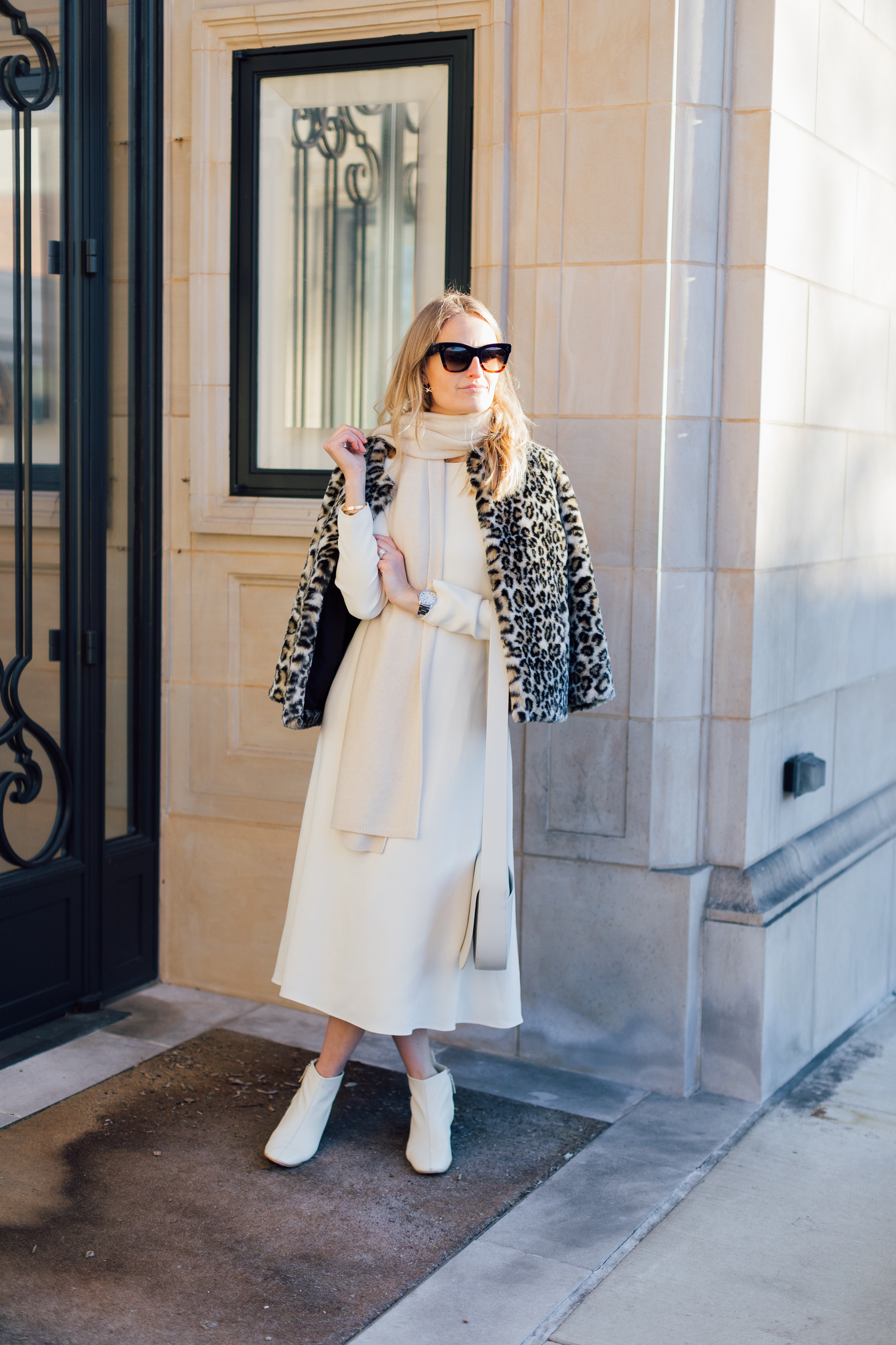 the girl guide leopard coat