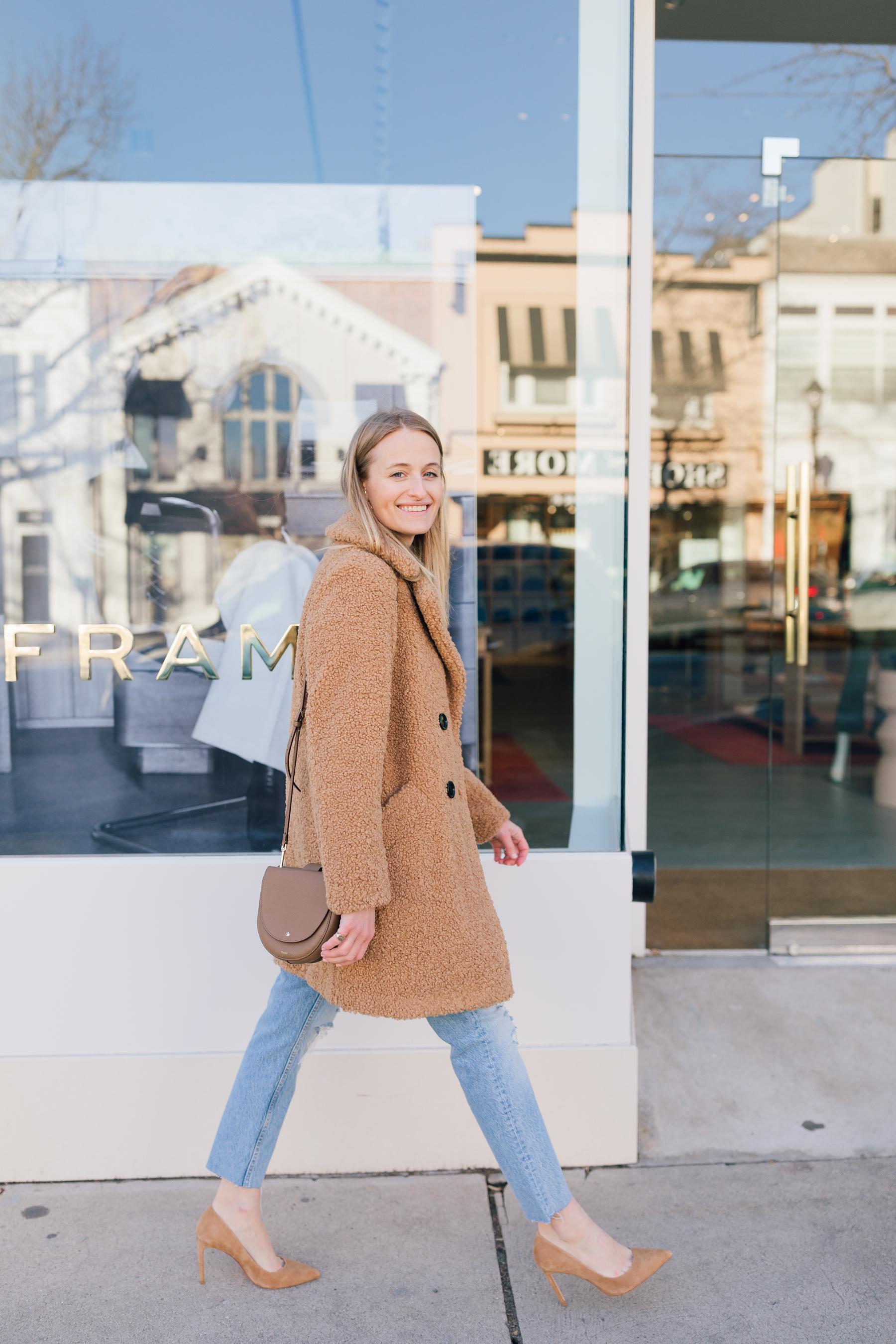 shop bop-sale-thegirlguide-stephanietrotta-sherpa-coat