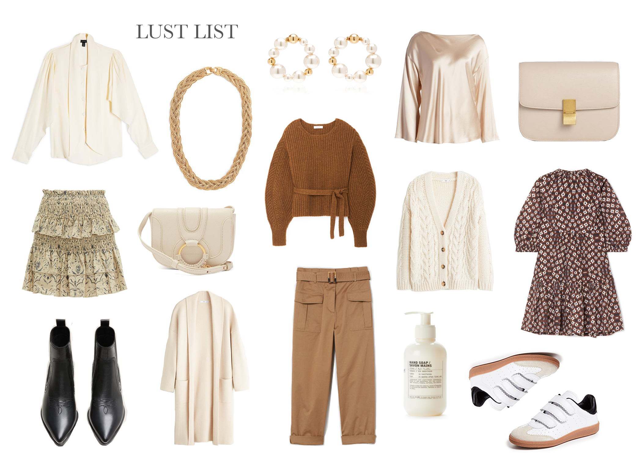 Pre-Fall 2019 // The Girl Guide // Shades of Neutrals